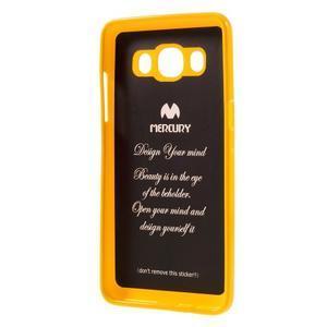 Newsets gelový obal na Samsung Galaxy J5 (2016) - žlutý - 3