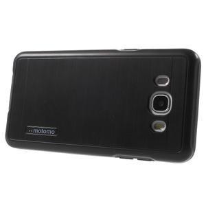 Gelový obal s plastovou výstuhou na Samsung Galaxy J5 (2016) - černý - 3