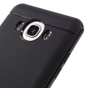 Hybridní obal 2v1 na mobil Samsung Galaxy J5 (2016) - černý - 3