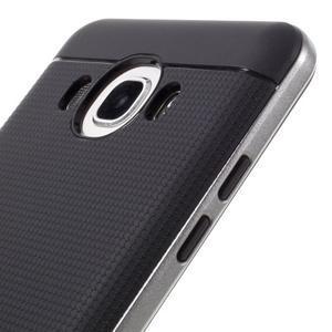 Hybridní obal 2v1 na mobil Samsung Galaxy J5 (2016) - šedý - 3