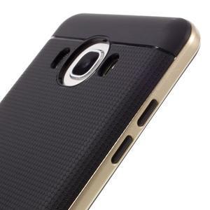Hybridní obal 2v1 na mobil Samsung Galaxy J5 (2016) - zlatý - 3