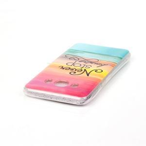 Softy gelový obal na mobil Samsung Galaxy J5 (2016) - nepřestávej snít - 3