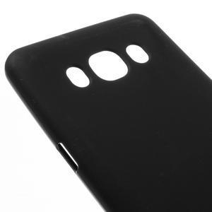 Matný gelový obal na Samsung Galaxy J5 (2016) - černý - 3