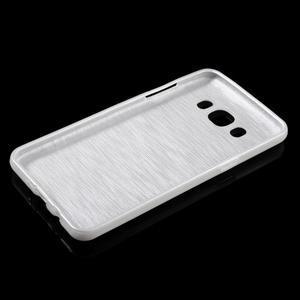 Brushed gelový obal na mobil Samsung Galaxy J5 (2016) - bílý - 3