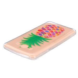 Transparentní gelový obal na Samsung Galaxy J5 (2016) - ananas - 3