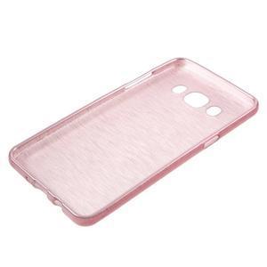Brushed gelový obal na mobil Samsung Galaxy J5 (2016) - růžový - 3
