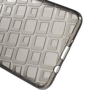 Square gelový obal na Samsung Galaxy J5 (2016) - šedý - 3