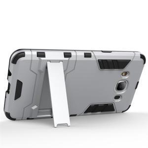 Odolný kryt na mobil Samsung Galaxy J5 (2016) - šedomodrý - 3