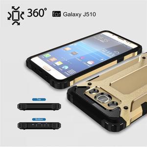 Armor 2v1 odolný obal na Samsung Galaxy J5 (2016) - zlatý - 3