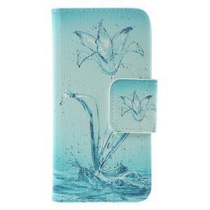 Emotive pouzdro na mobil Samsung Galaxy J5 (2016) - vodní květ - 3