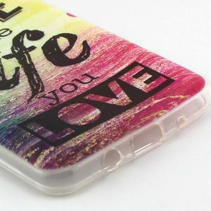 Flexi obal na mobil Samsung Galaxy J5 (2016) - life - 3