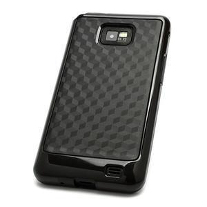 Cube odolný obal na mobil Samsung Galaxy S2 - černý - 3