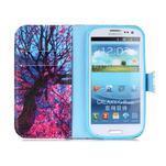 Emotive peněženkové pouzdro na Samsung Galaxy S3 - strom - 3/6