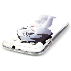 Gelový obal na mobil Samsung Galaxy S3 - kočička - 3