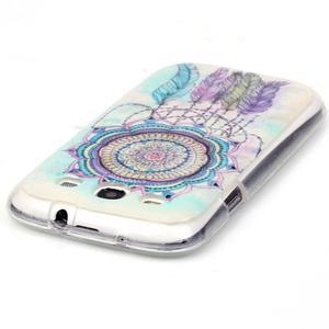 Gelový obal na mobil Samsung Galaxy S3 - lapač snů - 3