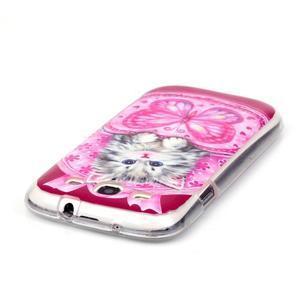 Gelový obal na mobil Samsung Galaxy S3 - koťátko - 3