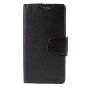 Diary PU kožené pouzdro na mobil Samsung Galaxy S3 - černé - 3