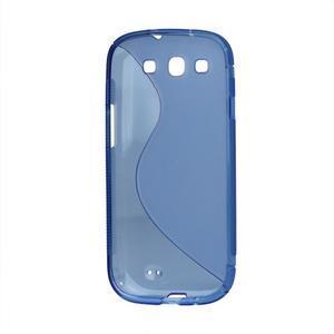 S-line gelový obal na Samsung Galaxy S3 - modrý - 3