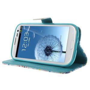 Knížečkové pouzdro na Samsung Galaxy S3 - Londýn - 3