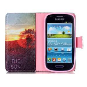Emotive pouzdro na mobil Samsung Galaxy S3 mini - východ slunce - 3