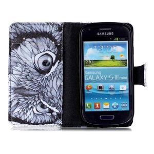 Emotive pouzdro na mobil Samsung Galaxy S3 mini - sova - 3