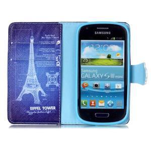 Emotive pouzdro na mobil Samsung Galaxy S3 mini - Eiffelova věž - 3