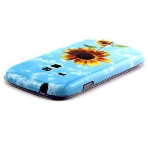 Gelový obal na mobil Samsung Galaxy S3 mini - sunflower - 3