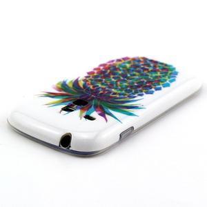 Gelový obal na mobil Samsung Galaxy S3 mini - barevní ananas - 3