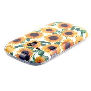 Gelový obal na mobil Samsung Galaxy S3 mini - slunečnice - 3