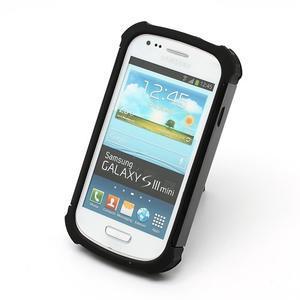 Outdoor odolný obal na mobil Samsung Galaxy S3 mini - černý - 3