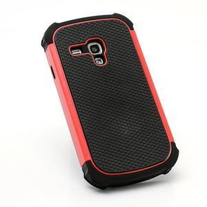 Outdoor odolný obal na mobil Samsung Galaxy S3 mini - červený - 3