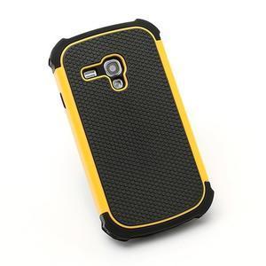 Outdoor odolný obal na mobil Samsung Galaxy S3 mini - žlutý - 3