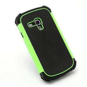 Outdoor odolný obal na mobil Samsung Galaxy S3 mini - zelený - 3
