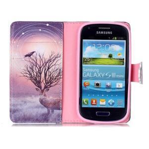Emotive pouzdro na mobil Samsung Galaxy S3 mini - mystický jelen - 3