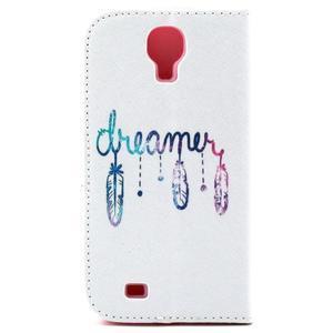 Standy peněženkové pouzdro na Samsung Galaxy S4 - dream - 3
