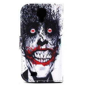 Standy peněženkové pouzdro na Samsung Galaxy S4 - monstrum - 3
