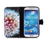 Emotive knížkové pouzdro na Samsung Galaxy S4 - barevená pampeliška - 3/6