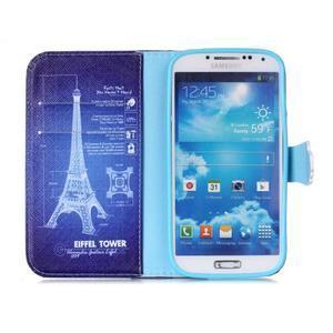 Emotive knížkové pouzdro na Samsung Galaxy S4 - Eiffelova věž - 3