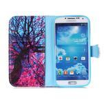 Emotive knížkové pouzdro na Samsung Galaxy S4 - strom - 3/6