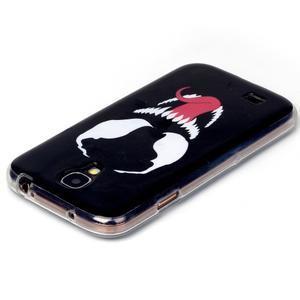 Softy gelový obal na mobil Samsung Galaxy S4 - šakal - 3