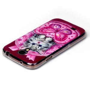 Softy gelový obal na mobil Samsung Galaxy S4 - koťátko - 3