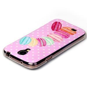 Softy gelový obal na mobil Samsung Galaxy S4 - makrónky - 3
