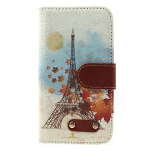 Elegant peněženkové pouzdro na Samsung Galaxy S4 - Eiffelova věž - 3