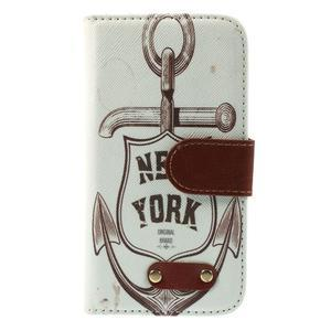 Elegant peněženkové pouzdro na Samsung Galaxy S4 - New York - 3