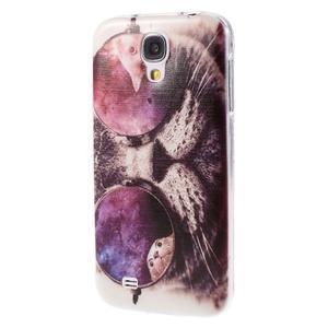 Ultratenký slim gelový obal na Samsung Galaxy S4 - cool kočka - 3
