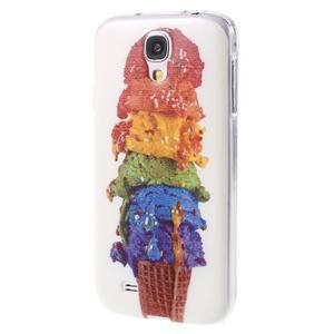 Ultratenký slim gelový obal na Samsung Galaxy S4 - zmrzlina - 3