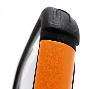 Outdoor odolný silikonový obal na Samsung Galaxy S4 - oranžový - 3
