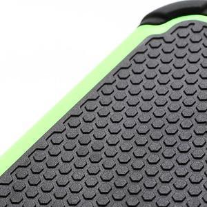 Outdoor odolný silikonový obal na Samsung Galaxy S4 - zelený - 3