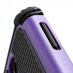 Outdoor odolný silikonový obal na Samsung Galaxy S4 - fialový - 3