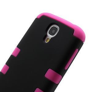 Extreme odolný gelový obal 2v1 na Samsung Galaxy S4 - rose - 3